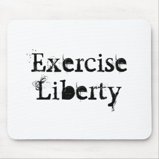 Life, Love, and Liberties Mouse Pad