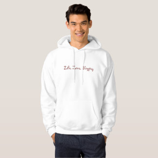 Life. Love. Blogging. Basic Men's Hoodie