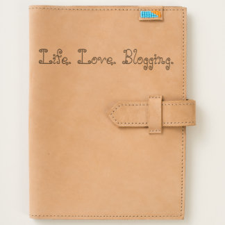 Life. Love. Blogging. Leather Journal