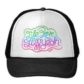 Life Love Stuff Yeah Trucker Hat