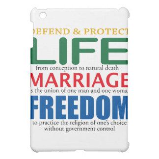Life Marriage Freedom iPad Mini Case