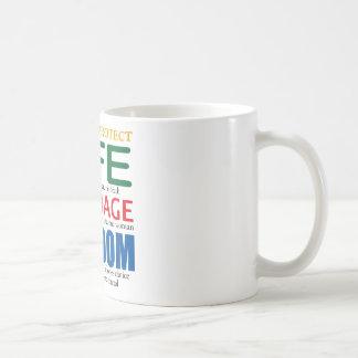 Life, Marriage, Freedom Mug