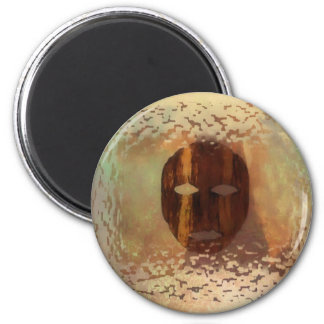 Life Mask 2 Inch Round Magnet