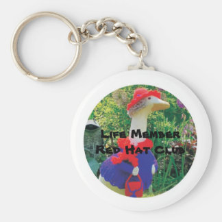 Life MemberRed Hat Club - Official Key Chain