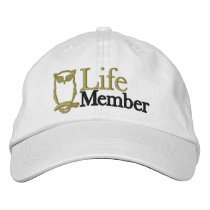 Life Members Hat - Cotton, Adjustable