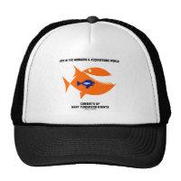 Life Mergers & Acquisitions World Turducken Fish Trucker Hat