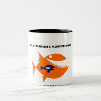 Life Mergers & Acquisitions World Turducken Fish Two-Tone Coffee Mug