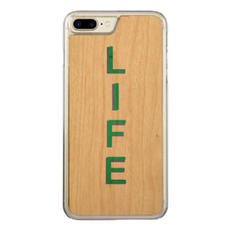Life Modern Cool Color Carved iPhone 7 Plus Case