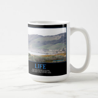 LIFE - Motivation Coffee Mug