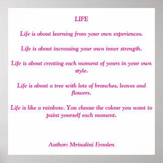 'Life' Motivational Poster
