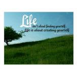 Life n Yourself Inspirational Post Card