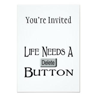 Life Needs A Delete Button Card