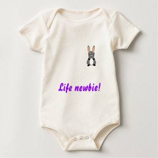 Life newbie baby bodysuit
