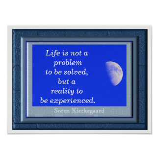 Life Not A Problem - art print