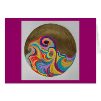 """""""Life of a Heartist"""" notecard by Patricia Pearce Stationery Note Card"""