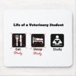 Life of a Vet Student Mouse Pad
