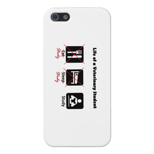Life of a Veterinary Student iPhone case