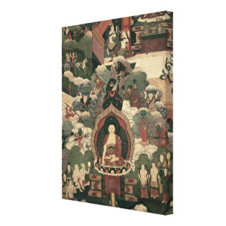 Life of Buddha Sakymuni Canvas Prints
