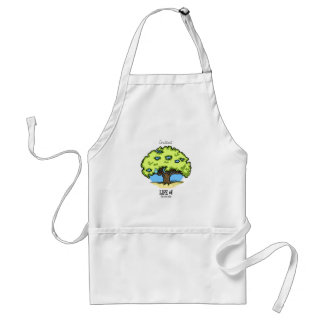 Life of Gratitude - nature Adult Apron