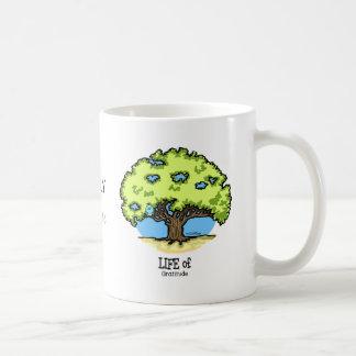 Life of Gratitude - nature Classic White Coffee Mug