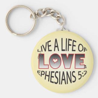 Life of Love Keychain