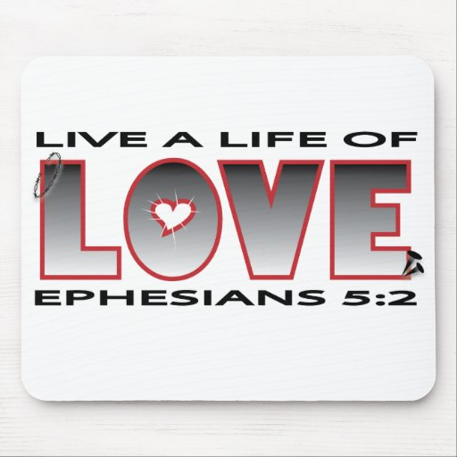 life of love mousepad