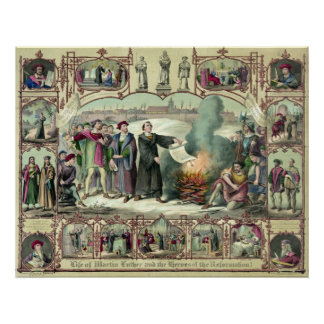 Life of Martin Luther Poster