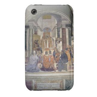 Life of St. Benedict (fresco) (detail) iPhone 3 Case