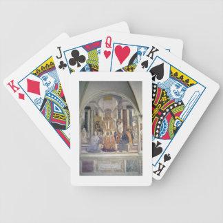 Life of St. Benedict (fresco) (detail) Card Decks