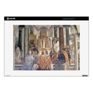 "Life of St. Benedict (fresco) (detail) Skin For 15"" Laptop"