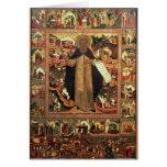 Life of St. Sergius of Radonesh, 1640s Greeting Cards