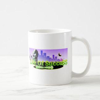 Life of success classic white coffee mug
