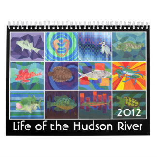 Life of the Hudson River Calendar