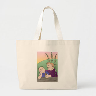 Life of the Party - Agrimony Flower Essence Jumbo Tote Bag