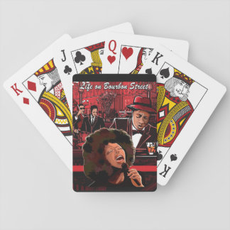 Life on Bourbon Street Playing Cards, Music Theme Poker Cards