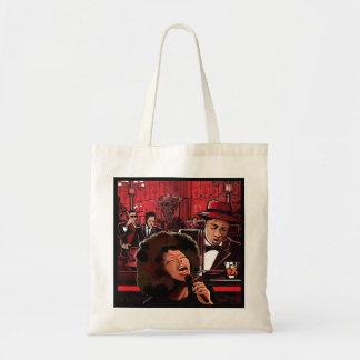 Life on Bourbon Street Tote Bag, Music Theme