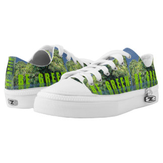 Life on Planet Earth Printed Shoes