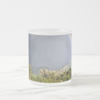 Life on the Blackman Ranch Frosted Glass Coffee Mug