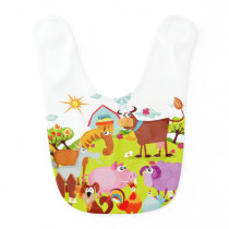 Life on the Farm Bib