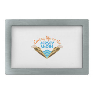 LIFE ON THE JERSEY SHORE BELT BUCKLE
