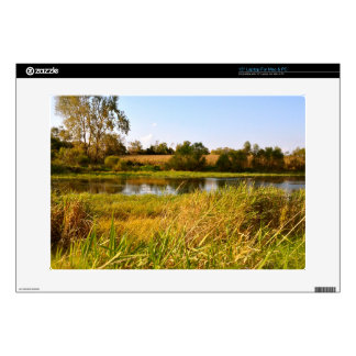 Life on the Pond 15 inch Laptop Skin