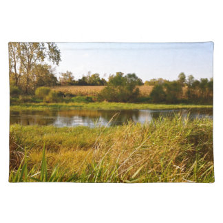 Life on the Pond Placemat Cloth Place Mat