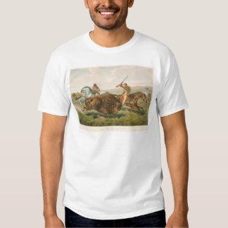 Life on the Prairie: The Buffalo Hunt (0878A) Tee Shirt