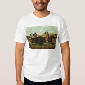 Life on the Prairie - the Buffalo Hunt, 1862 T-shirt