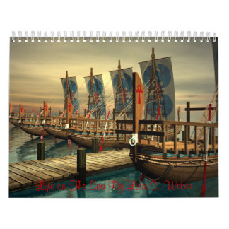 Life On The Sea By Lisa C. Weber-Nautical Calendar