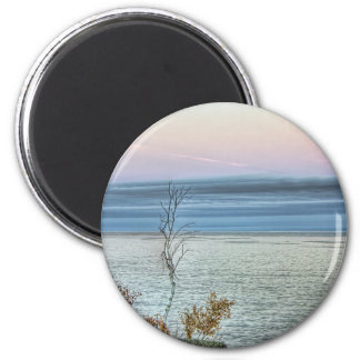 Life on the Shore 2 Inch Round Magnet
