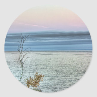 Life on the Shore Classic Round Sticker