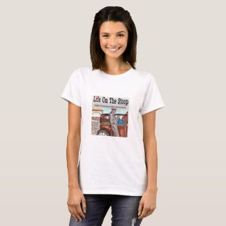 """Life On The Stoop Designs by Artist """"Phil Bracco"""" T-Shirt"""