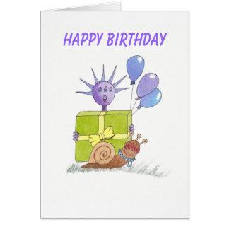 Life on Venus birthday card