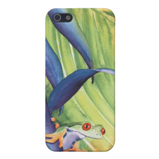 Life on Watch - tree frog Cases For iPhone 5